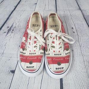 Rare Campbell's soup Vans x Surpreme shoes